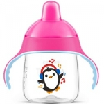 Фото Avent - Чашка-поильник для детей от 12 месяцев до 3-х лет, розовый, 260 мл