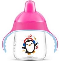 Avent - Чашка-поильник для детей от 12 месяцев до 3-х лет, розовый, 260 мл