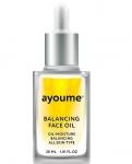 Фото Ayoume Balancing Face Oil With Sunflower - Масло для лица восстанавливающее, 30мл