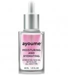 Фото Ayoume Moisturing-&-Hydrating Face Oil With Olive - Масло для лица увлажняющее, 30 мл
