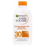 Фото Garnier Ambre Solaire - Водостойкое солнцезащитное молочко Увлажнение 24ч, SPF 30, 200 мл