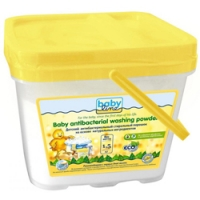 Babyline Baby Antibacterial Washing Powdered - Стиральный порошок детский на основе натуральных ингредиентов, 1500 г