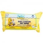 Фото Babyline Baby Comfort Wet Wipes - Салфетки влажные Комфорт с алоэ вера и ромашкой, 80 шт