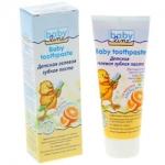 Фото Babyline Baby toothpaste - Зубная паста детская со вкусом апельсина, 75 мл
