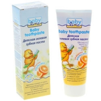 Babyline Baby toothpaste - Зубная паста детская со вкусом апельсина, 75 мл