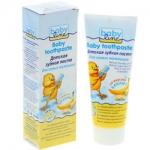 Фото Babyline Baby toothpaste - Зубная паста детская со вкусом банана, 75 мл