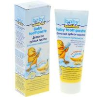 Babyline Baby toothpaste - Зубная паста детская со вкусом банана, 75 мл