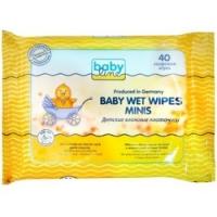 Babyline Baby Wet Wipes Minis - Влажные платочки детские, 40 шт