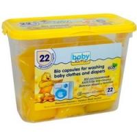 Babyline Bio Capsules - Капсулы BIO растворяемые для стирки детских вещей и пеленок, 22 шт