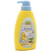 Babyline - Гель для купания с целебными травами для детей с первых дней жизни с дозатором, 500 мл
