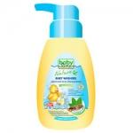 Фото Babyline - Гель для купания с мятой и солодкой для детей с первых дней жизни, 250 мл