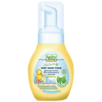 Babyline - Пенка детская для подмывания малыша с растительными экстрактами, 250 мл