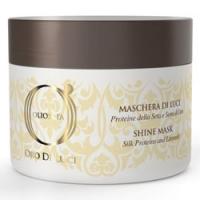 Barex Italiana Olioseta Oro Di Luce - Маска-блеск с протеинами шелка и семенем льна, 200 мл