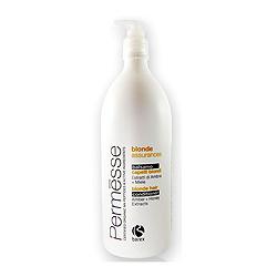 Фото Barex Permesse Blonde Hair Conditioner with Amber and Honey extracts - Бальзам для осветленных волос с экстрактом янтаря и мёдом 1000 мл