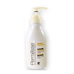 Фото Barex Permesse Blonde Hair Conditioner with Amber and Honey extracts - Бальзам для осветленных волос с экстрактом янтаря и мёдом 250 мл