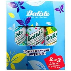 Фото Batiste Cherry Tropical Original - Набор сухих шампуней, 3х50 мл