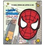 Фото Baviphat The Amazing Spiderman Snail Nutrition Gel Mask - Маска гидрогелевая для лица со слизью улитки, 30 г