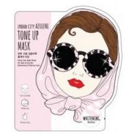 Купить Baviphat Urban City Azulene Tone-up Mask Whitening - Маска для лица тканевая, 25 гр