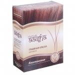 Фото Aasha Herbals - Краска травяная для волос, Каштановый, 60 мл