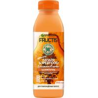 Купить Garnier Fructis SuperFood - Шампунь для восстановления волос Папайя, 350 мл