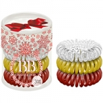 Beauty Bar - Набор резинок для волос, Новогодний