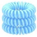 Beauty Bar - Резинка для волос, светло-голубая