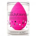 Фото Beauty Blender the Original beautyblender single + mini- solid cleanser kit - Спонж розовый + Мини-Мыло для очистки Solid