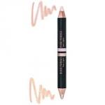 Фото Beautydrugs Twin Lights 02 - Двойной карандаш-хайлайтер для бровей, 2,98 г