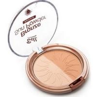 Bell Bronze Sun Powder Panthenol - Пудра бронзирующая с пантенолом, тон 20, 9 г