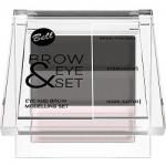 Фото Bell Brow And Eye Modelling Set - Набор для моделирования бровей и глаз, тон 02, 25 г