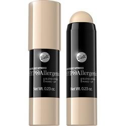Фото Bell Hypoallergenic Blend Stick Make-Up - Флюид интенсивно скрывающий недостатки, карандаш, тон 01, молочный, 19 мл