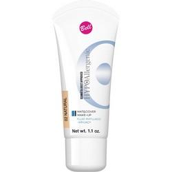 Фото Bell Hypoallergenic Mat&Cover Make-Up - Флюид матирующий тональный, гипоаллергенный, тон 02, бежевый, 30 мл