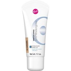 Фото Bell Hypoallergenic Mat&Cover Make-Up - Флюид матирующий тональный, гипоаллергенный, тон 03, карамельный, 30 мл