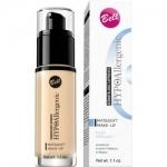 Фото Bell Hypoallergenic Mat&soft Make-Up - Флюид матирующий гипоаллергенный, тон 02, бежевый, 30 мл