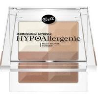 Bell Hypoallergenic Multi Bronze Powder - Пудра с бронзирующим и осветляющим эффектом, тон 01, молочный, 5 гр