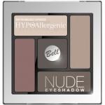Фото Bell Hypoallergenic Nude Eyeshadow - Сатиново-кремовые тени для век, тон 01, коричневый, 5 гр