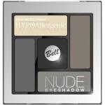 Фото Bell Hypoallergenic Nude Eyeshadow - Сатиново-кремовые тени для век, тон 02, черный, 5 гр