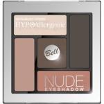Фото Bell Hypoallergenic Nude Eyeshadow - Сатиново-кремовые тени для век, тон 03, персиковый, 5 гр