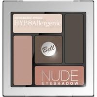 Bell Hypoallergenic Nude Eyeshadow - Сатиново-кремовые тени для век, тон 03, персиковый, 5 гр