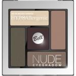 Фото Bell Hypoallergenic Nude Eyeshadow - Сатиново-кремовые тени для век, тон 04, коричневый, 5 гр