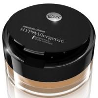 Bell Hypoallergenic Shimmering Loose Powder - Пудра для лица и тела бронзирующая, тон 01, золотистый, 4 гр