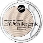 Фото Bell Hypoallergenic Shimmering Sands Eyeshadow - Кремовые тени для век, тон 01, светло-бежевый, 3 гр