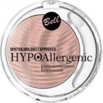 Фото Bell Hypoallergenic Shimmering Sands Eyeshadow - Кремовые тени для век, тон 02, персиковый, 3 гр