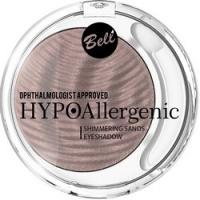 Bell Hypoallergenic Shimmering Sands Eyeshadow - Кремовые тени для век, тон 03, светло-коричневый, 3 гр