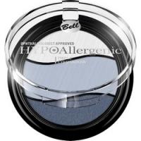 Bell Hypoallergenic Triple Eyeshadow - Тени для век трехцветные, тон 03, светло-серый, синий, серо-голубой, 4 гр