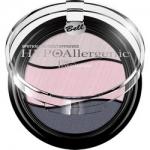 Фото Bell Hypoallergenic Triple Eyeshadow - Тени для век трехцветные, тон 05, светло-бежевый, бледно-розовый, синий, 4 гр