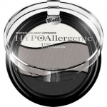 Фото Bell Hypoallergenic Triple Eyeshadow - Тени для век трехцветные, тон 08, черный, серый, белый, 4 гр
