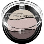 Фото Bell Hypoallergenic Triple Eyeshadow - Тени для век трехцветные, тон 09, серо-коричневый, светло-коричневый, бежевый, 4 гр