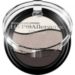 Фото Bell Hypoallergenic Triple Eyeshadow - Тени для век трехцветные, тон 10, темно-коричневый, светло-коричневый, бежевый, 4 гр