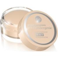 Bell Hypoallergenic Waterproof Mat Eyeshadow - Водостойкие матовые тени для век, тон 01, бежевый, 23 гр